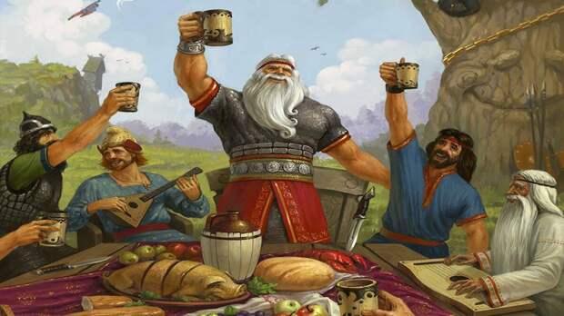 Русские и славяне (картинка взята из ОИ)