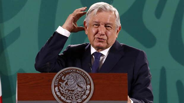 Президент Мексики обвинил США в помощи сторонникам госпереворота
