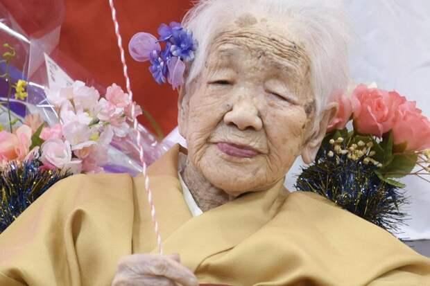 Японскую долгожительницу признали самым пожилым человеком на земле