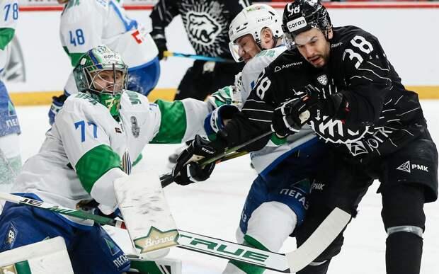 «Салават Юлаев» обыграл «Трактор» в плей-офф КХЛ и повел в серии 2-1