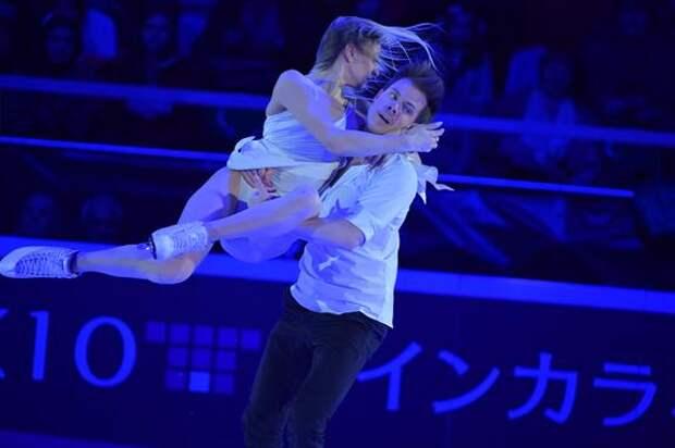 Синицина и Кацалапов лидируют в Японии после ритм-танца