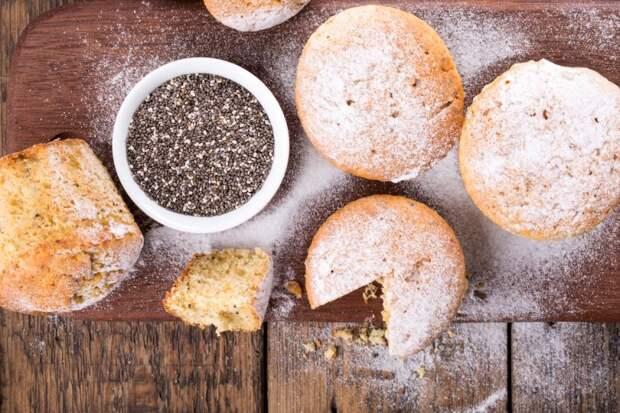 полезные свойства семян чиа – пирог с семенами чиа