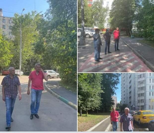 В проезде Черепановых покрасят металлическую лестницу и отремонтируют асфальт