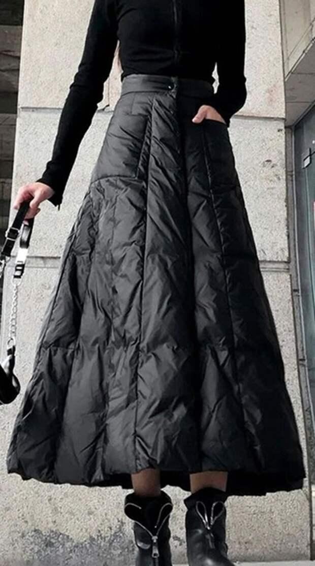 непромокаемая юбка стежка