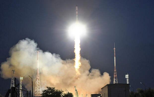 """Ракета """"Союз-2.1а"""" вывела корабль """"Прогресс МС-17"""" на орбиту"""