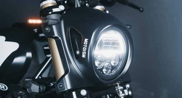 Тюнеры Motoism Streamline из Мюнхена представили свою версию мотоцикла Indian FTR 1200
