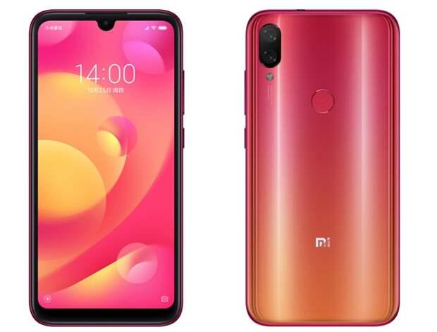 Смартфон Xiaomi Mi Play за $160 оснащён процессором MediaTek Helio P35