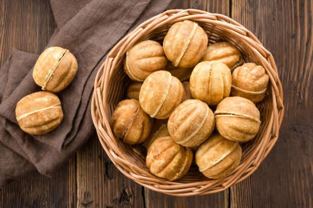 Орешки со сгущёнкой. \ Фото: boned.ru.