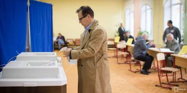 В Москве число голосующих на дому меньше, чем на голосовании по Конституции