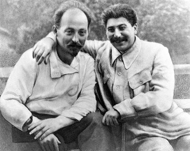 Железный Феликс и Иосиф СССР, коммунисты, сталин, фото.