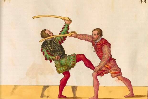 Позабытый фехтовальщик, которому в свое время не было равных