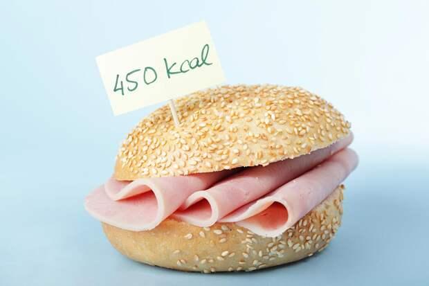 Как считать калории в продуктах?