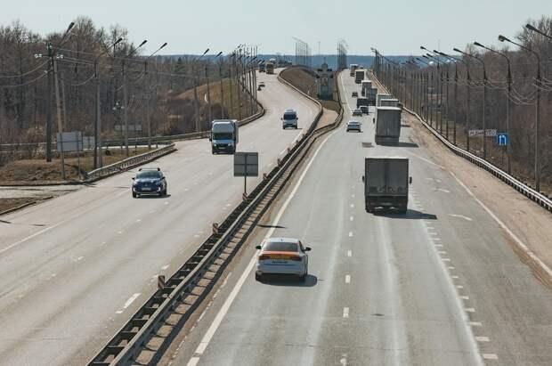 На трассе М-7 сузят дорогу из-за ремонта трассы под Нижним Новгородом