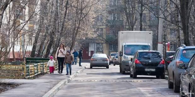 Тротуар на Флотской будет обновлен до середины июня