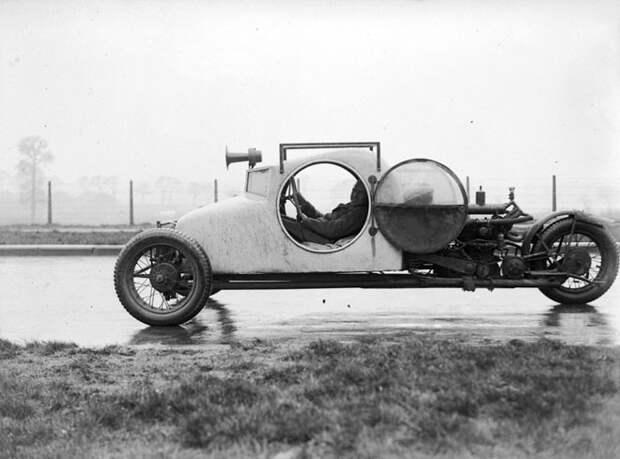 Трёхколёсный автомобиль, сделанный в 1929 году авто, мото, ретро