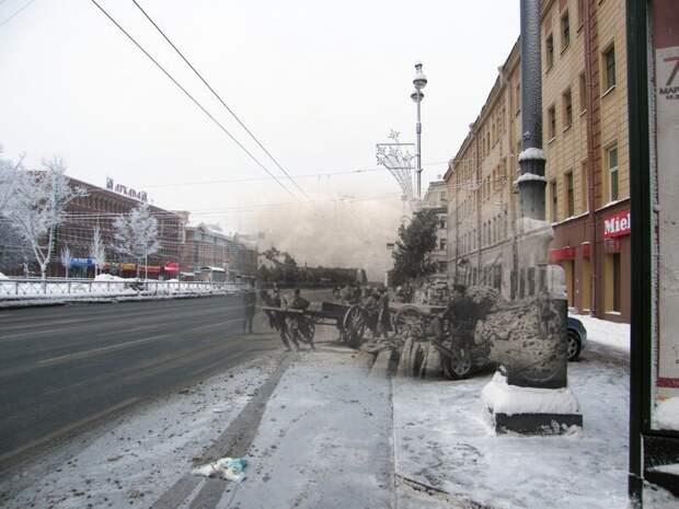 Ленинград 1942-2010 Московский проспект 130 блокада, ленинград, победа