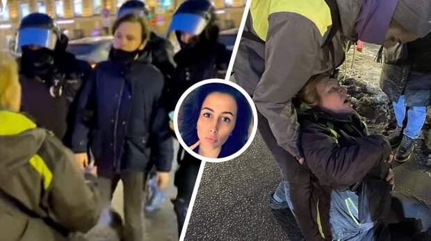 «Я бы посадила за такое!» Олимпийская чемпионка Шкурихина возмутилась омоновцем, ударившим женщину в живот в Питере