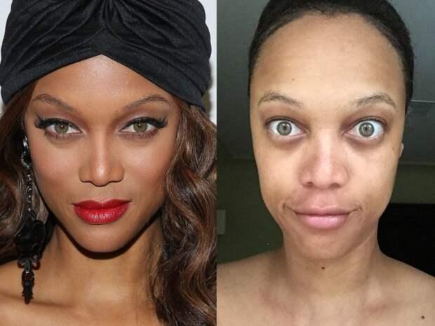 Как выглядят звезды без макияжа