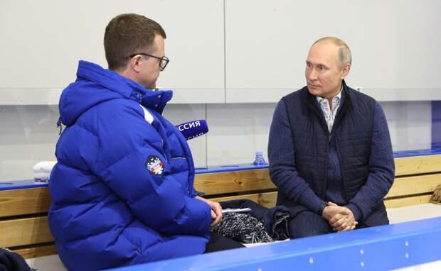 Путин: Вхождение Украины в НАТО — красная линия для России