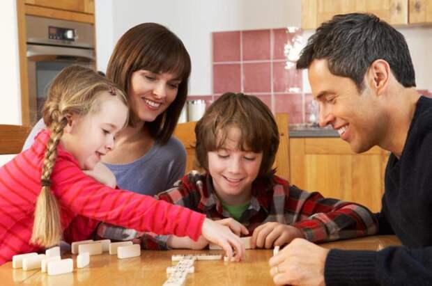 Семейные игры для детей и взрослых