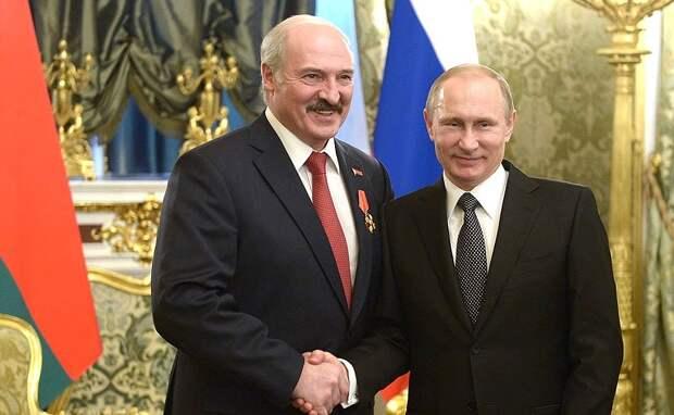 Владимир Путин признал результаты выборов в Белоруссии