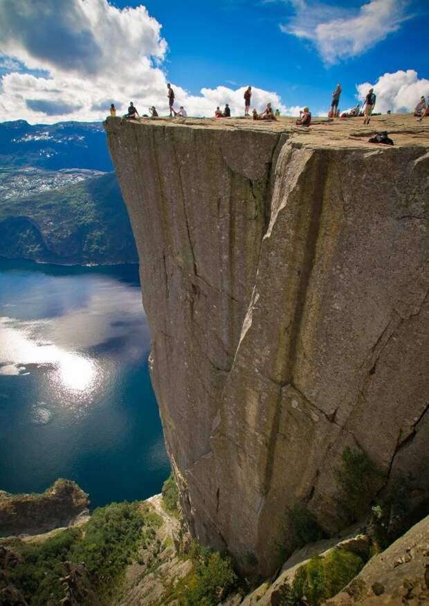 29 снимков для смельчаков, которые не боятся высоты