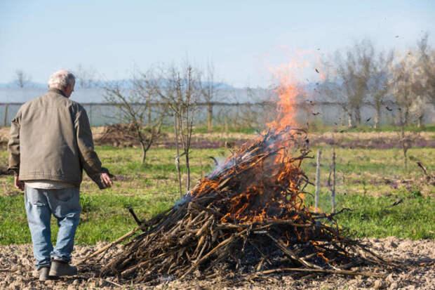 Открытый огонь не стоит разводить. /Фото: vitbichi.by.