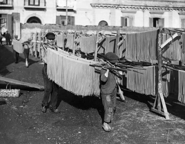 Как делали пасту в первой половине XX века