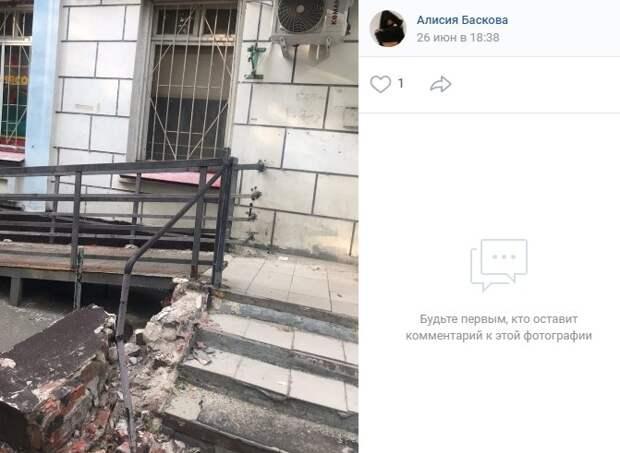 Разрушенную лестницу на Будайском восстановит собственник помещения — управа