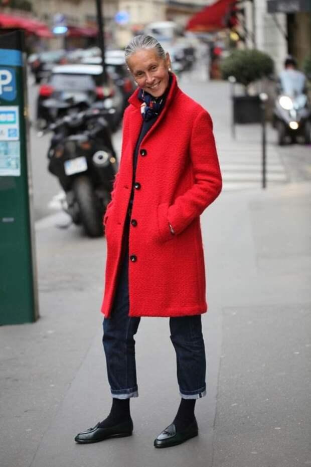 Возраст просто число: неувядающая модница Линда Райт. Икона стиля