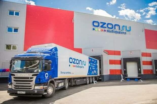 Оборот продаж Ozon в первом квартале вырос в 2,3 раза