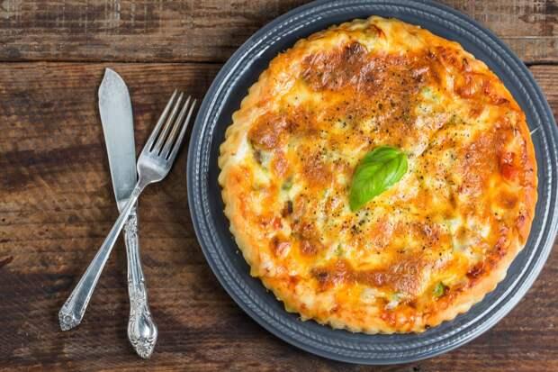 pizza-beef-pizza-1 Как приготовить сочный томатный пирог? Рецепт