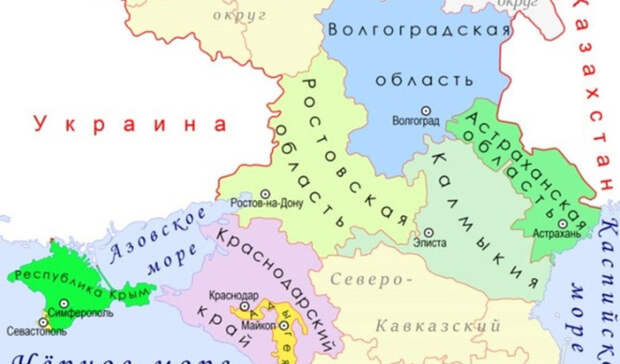 «Укрупнение» регионов: чем субъектам СКФО грозит идея объединения земель
