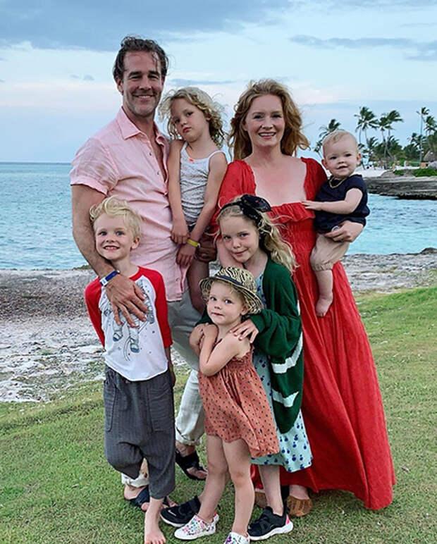 Джеймс Ван Дер Бик и его жена Кимберли Брук потеряли ребенка