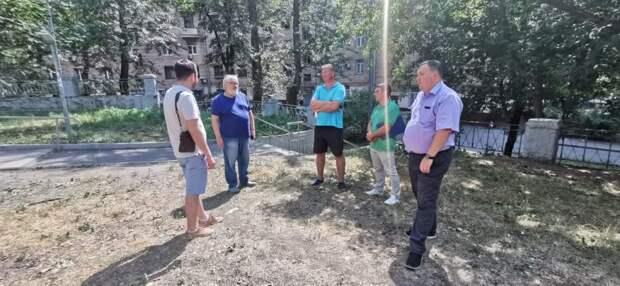 Во дворе на улице Трофимова скоро начнется масштабное благоустройство