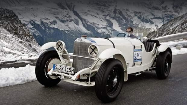 Запчасти, о которых идёт речь, подходят к Мерседесам S, SS, SSK (на фото) и SSKL серии, выпускавшейся с 1926 по 1932 год. mercedes, mercedes-benz, олдтаймер, ретро авто