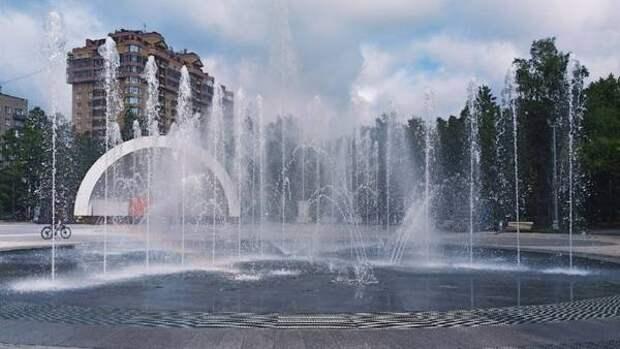 Фонтаны в Новосибирске запустят ко Дню Победы