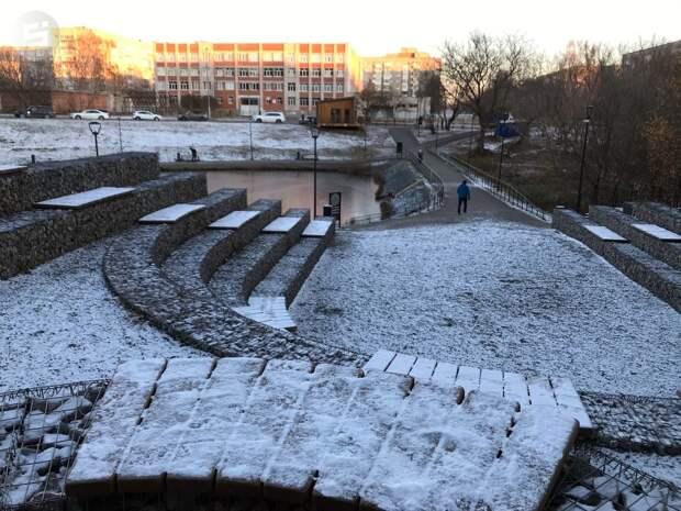 Гололедица и снежный накат ожидаются в Удмуртии на этой неделе