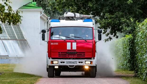 Управление МЧС по СЗАО: при пожаре на Дубравной никто не пострадал