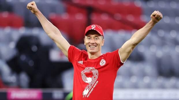Левандовски впервые в карьере завоевал «Золотую бутсу»