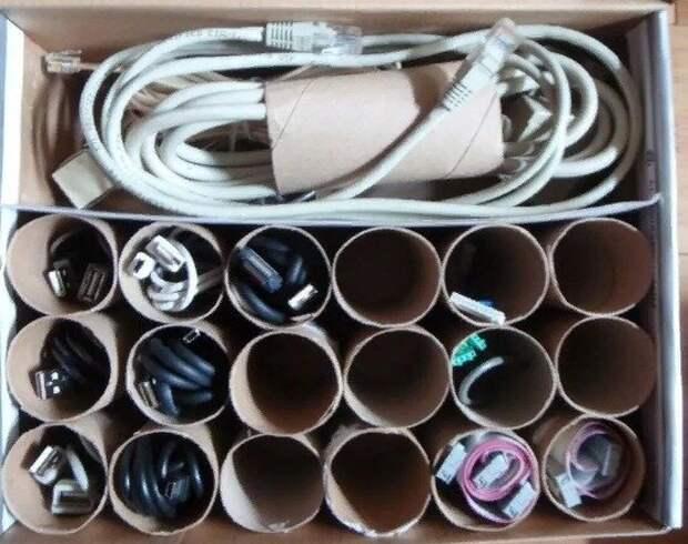 Интерезные и полезные лайфхаки для дома: как можно использовать втулки от туалетной бумаги