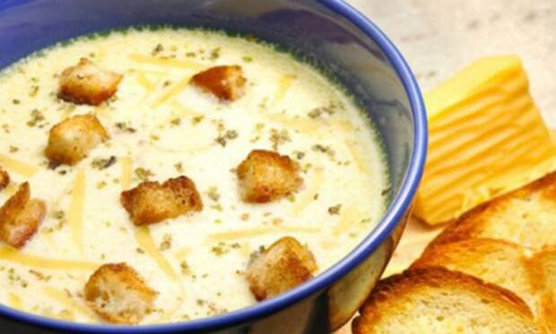 Сырный суп: когда абсолютно лень готовить