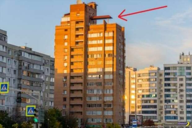 Квартира Карлсона, который живет на крыше