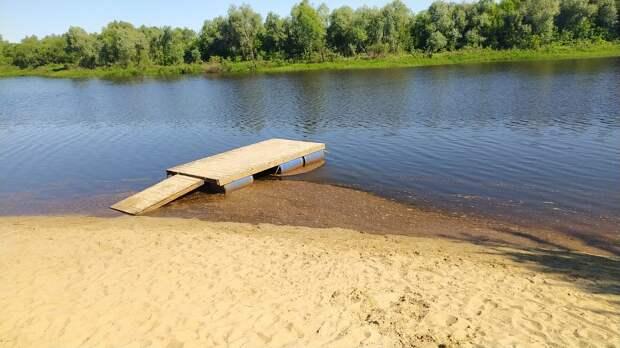 Жители Солотчи пожаловались на загрязнение реки фекалиями