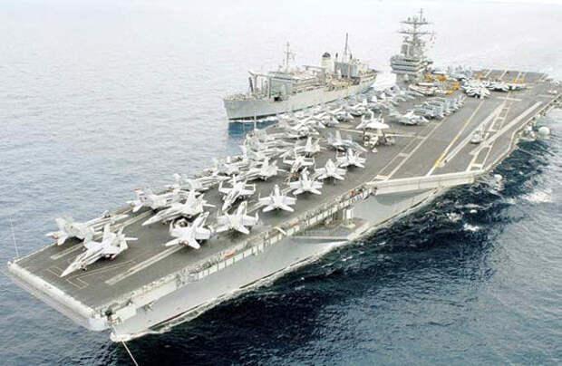 США - лидеры по авианосцам в мире... Фото: Wikipedia.org