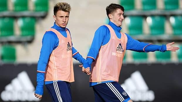 Алексей Миранчук: «Мне комфортно играть с Головиным. Есть взаимопонимание и футбольный интеллект»