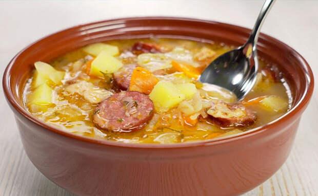 Капустняк из Польши: подаем суп и второе в одной тарелке