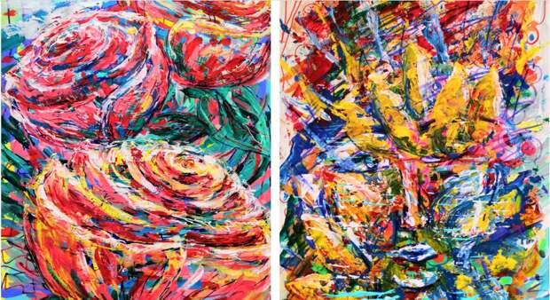 В культурном центре на бульваре Яна Райниса откроется выставка абстрактной живописи