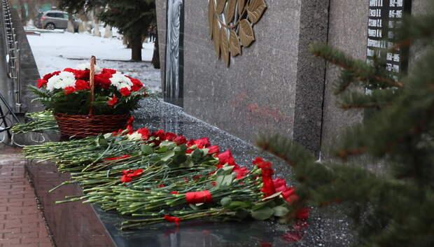 Росгвардейцы приняли участие в патриотической акции «Поклонись» в Подмосковье