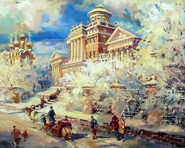 художник Павел Пеньковский картины – 02
